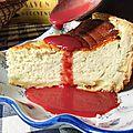 Vous aimez le cheesecake ? goûtez donc le käsekuchen