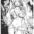 shanna the jungle girl inked