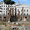 Sant'Eustachio - Entre Navone et Panthéon (13/14). Les fouilles de la Place d'Argentine et San Carlo ai Catinari.