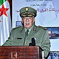 Discours du Général de Corps d'Armée Ahmed Gaïd Salah