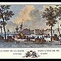 L'ÎLE DE RÉ (17) - 1793-1794 - CINQ <b>GUILLOTINÉS</b> : L'ABBÉ GIBAUD - TOUZEAU - L'ABBÉ OREILLAN - GUSTAVE DECHÉZEAUX
