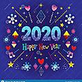 <b>Bonne</b> et heureuse <b>année</b> 2020