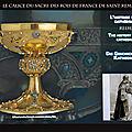 Reims: Le calice du sacre des rois de France de Saint <b>Remi</b>