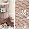 * diy: mon cosy mug