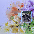 Scrap and co - défi lift de page : explosion de <b>couleurs</b>