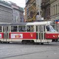 Tramways 1ère époque (modèle Tatra T3)