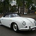 <b>PORSCHE</b> 356A 1600 Speedster