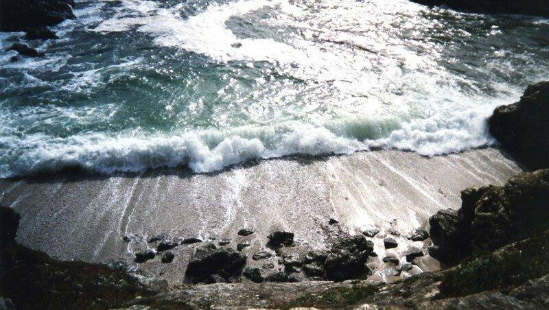Pointe des Poulains - vague