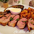<b>Gigot</b> d'agneau grillé à la crème d'ail et ses accompagnements