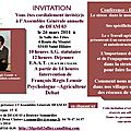 echanges et débat avec françois régis lenoir - a.g dfam 03 26 mars 2014