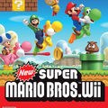 Officiel : La jaquette de <b>New</b> <b>Super</b> <b>Mario</b> <b>Wii</b>