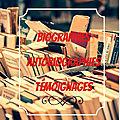 Sélection <b>biographies</b>, autobiographies et témoignages
