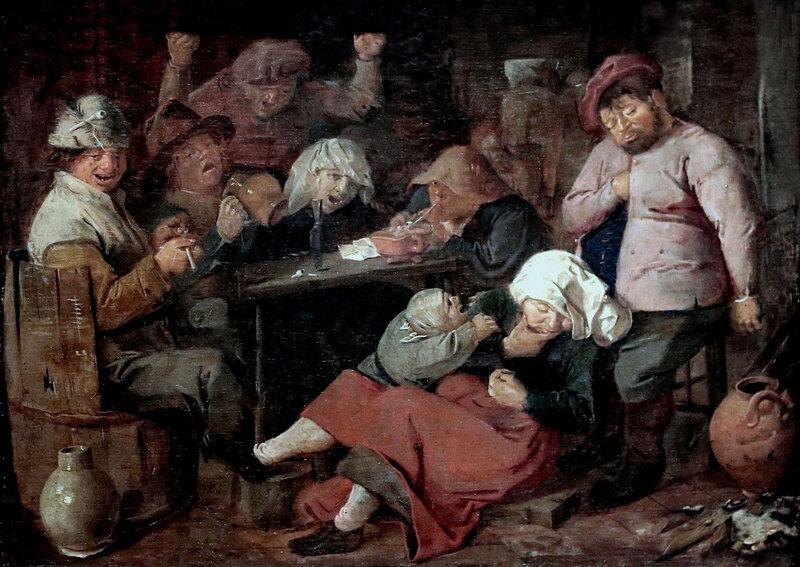 1625 (vers), Beuverie de paysans
