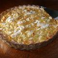 Fine tarte sablée aux pommes et aux amandes de christine ferber