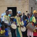 Troupe des Tambours du village de Kawal : Représentation à Gawdé Bofé - 2008