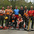 <b>FORMATION</b> CONSEIL GENERAL MEUSE, CHANTIER RD 110