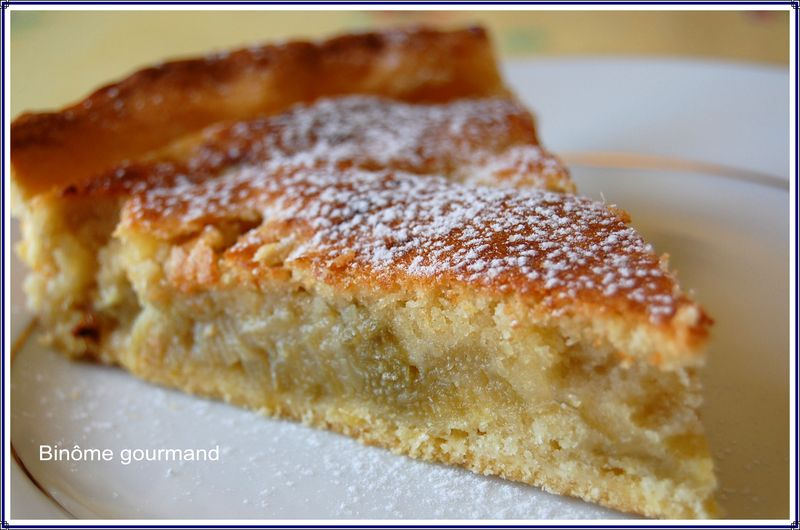 Recette Cake Rhubarbe Coco