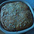 Gâteau moelleux abricots/amandes