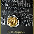 Apple dappy...