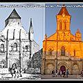 Hugues de faye, abbé de l'église abbatiale saint-vincent de nieul-sur l'autize.