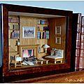 Une bibliothèque miniature de saison...
