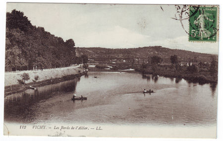 03 - VICHY - Les Bords de l'Allier