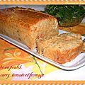 Cake au poulet et aux épices