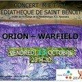 Warfield ce vendredi 13 octobre