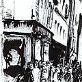 Rue vers 1900