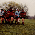 83-84, 16e de finale Crabos, Stade Foyen / Mont de Marsan, à la Réole