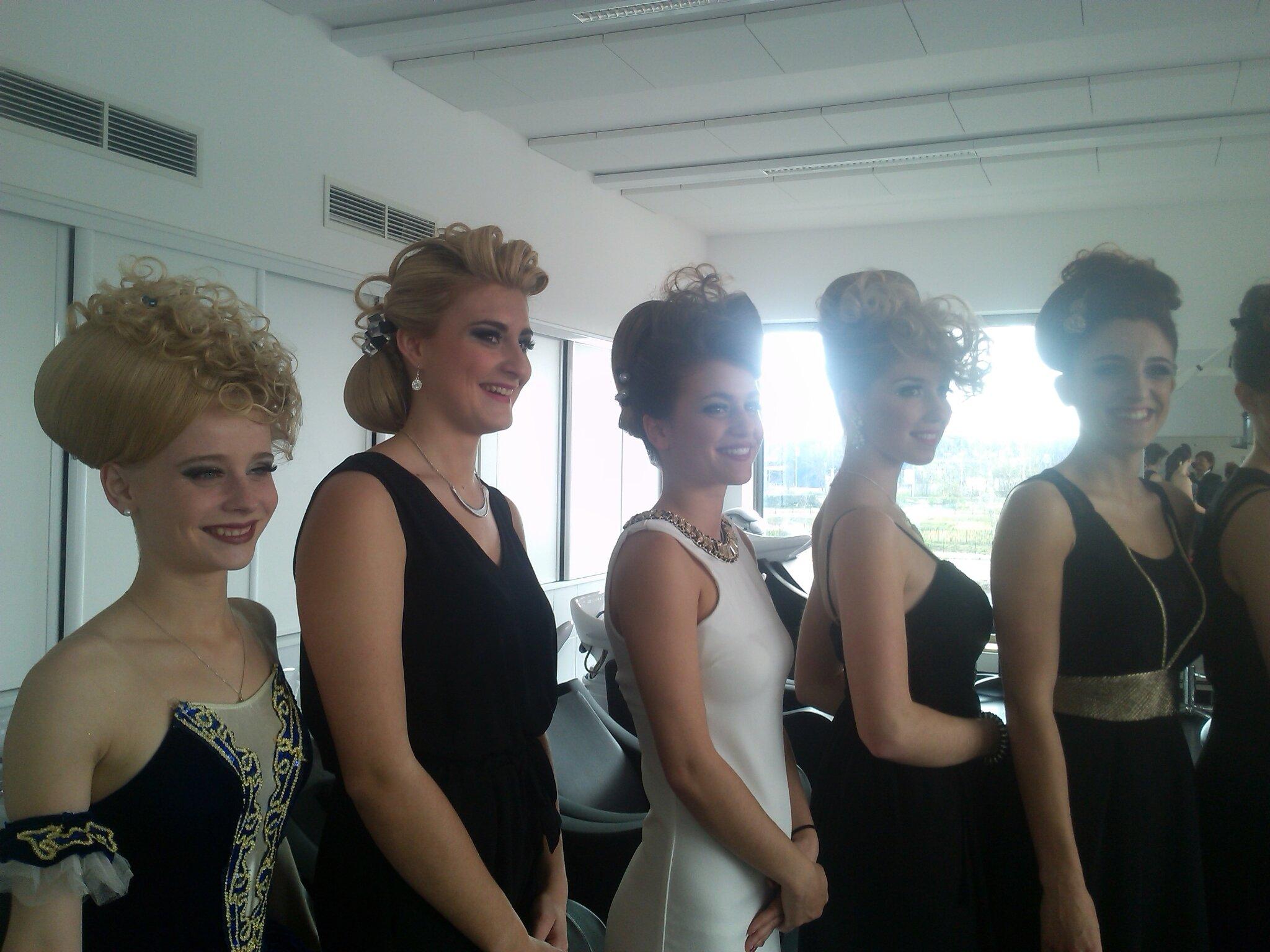 MAF.Médailles d'or pour les élèves en CAP coiffure!