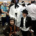 Famille steampunk