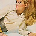 1967, Candice Bergen par Bailey pour Vogue