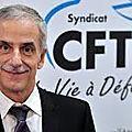 La CFTC a pris part au dialogue social avec l'executif du Ministère du <b>travail</b>