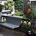 Banc en Zinc (Jardins, Jardin aux Tuileries - 05/2011)