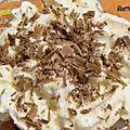 Verrine chocolat noix de coco