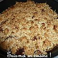 Duo de figues, crumble d'avoine & lavande