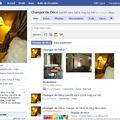 Changer de déco est sur facebook