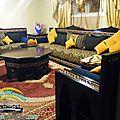 <b>Salon</b> <b>marocain</b> design et decor 2015
