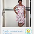 Patron burda gratuit - petite robe fétiche pour l'été