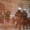 Manifestation des pompiers