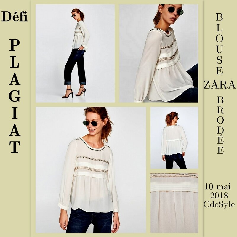 BLOUSE BRODEE MONTAGE