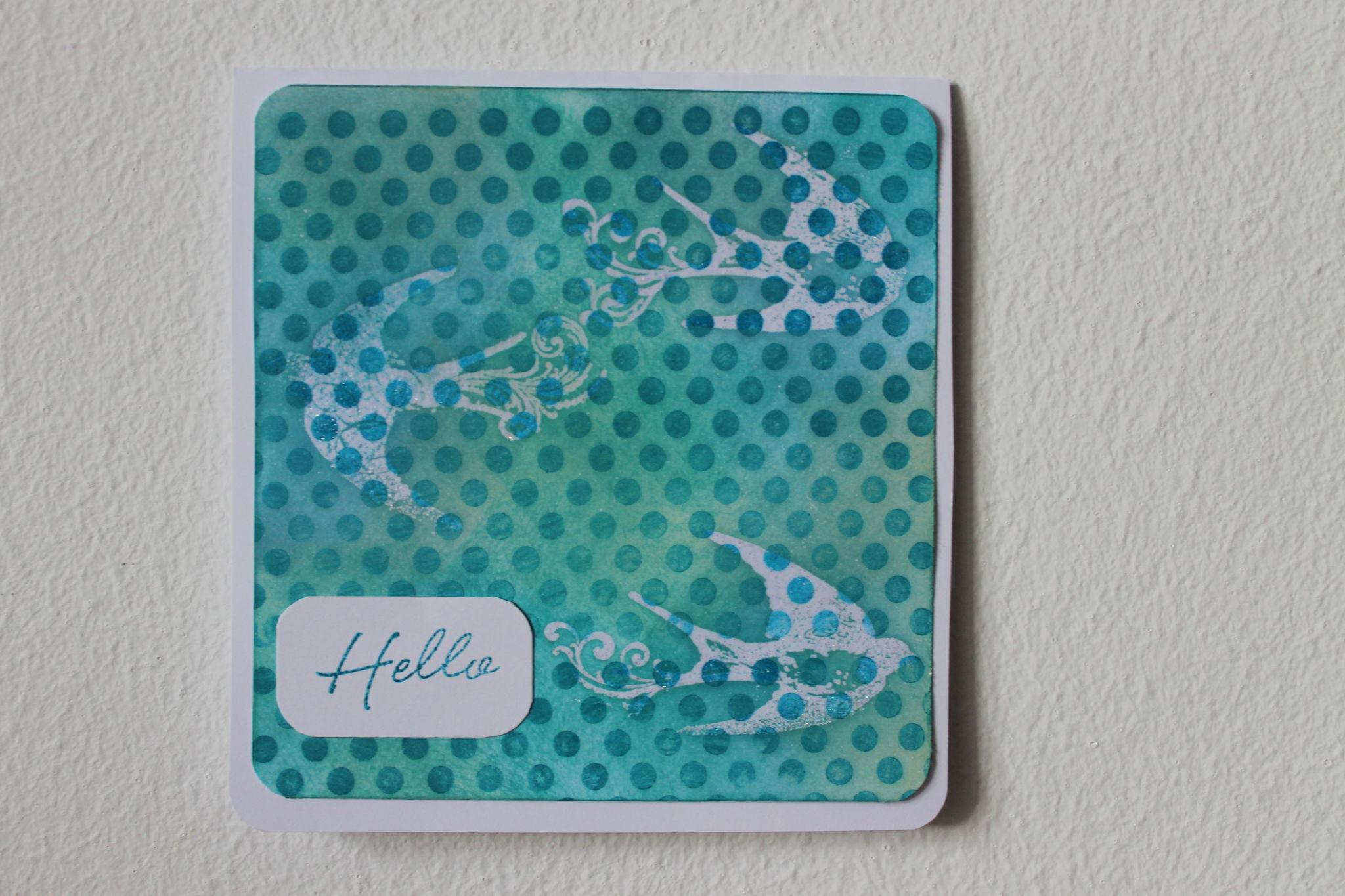 carte Hello 2013
