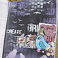 Journal art : spread your wings and fly