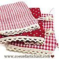 sachet-coton-dentelle-rouge www.coeurdartichaut.com