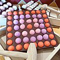 carré chocolat à casser fraises tagada