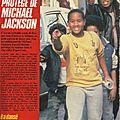 Alfonso le petit protégé de michael jackson - salut, 1984