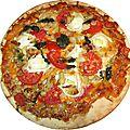Ma pizza vegetarienne!