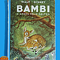 <b>Livre</b> Collection ... BAMBI de Walt <b>Disney</b> (1951)