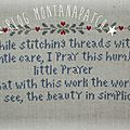 A stitchers's prayer la suite...